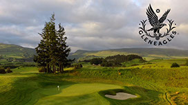 Gleneagles promotional aerial golf video